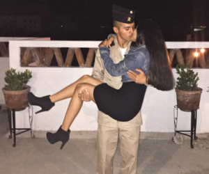 army, couple, and family image