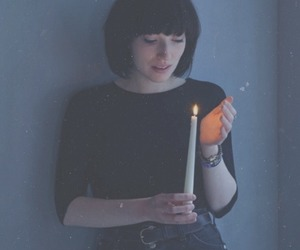 daughter, candle, and band image
