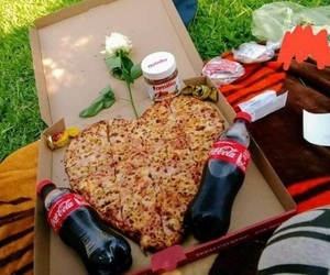 love and pizza image
