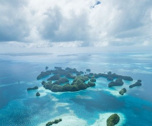 Island, ocean, and sea image