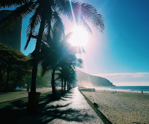 beach, brazilian, and praia image