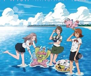 anime, kawaii, and digimon image
