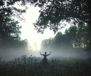 dance, ethereal, and fog image