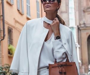 bag, blouse, and celine image