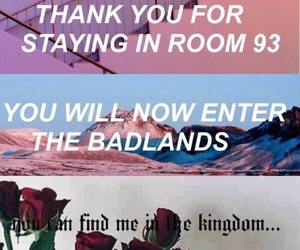 badlands, music, and room 93 image