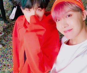 bts, jhope, and yoonseok image