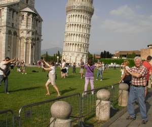 tower of pisa, travel, and путешествие image
