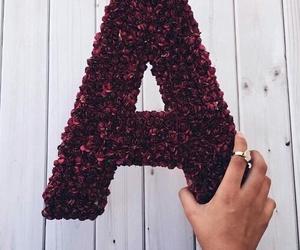 letter A image