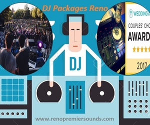 wedding dj, dj packages reno, and dj packages image