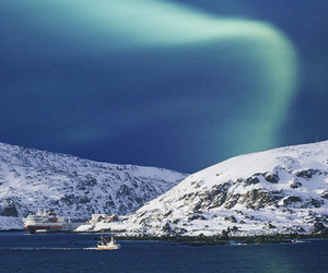 aurora borealis, photography, and snow image