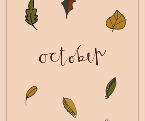 autumn, leaves, and theme image