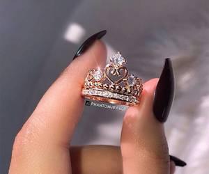 nails, nice, and rings image