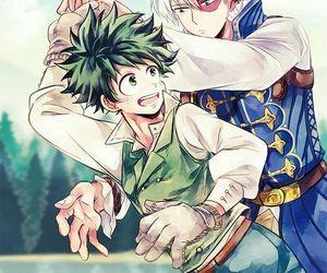 anime, my hero academia, and midoriya izuku image