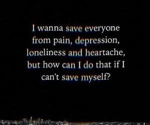 quotes, crying, and depression image