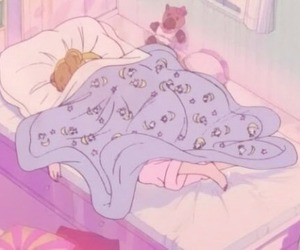 sailor moon, anime, and sleep image