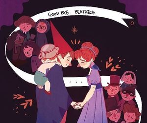 beatrice, wirt, and over the garden wall image