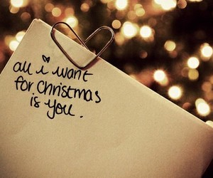 all i want for christmas and christmas quote image