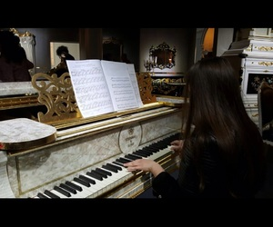 classic, piano, and music image