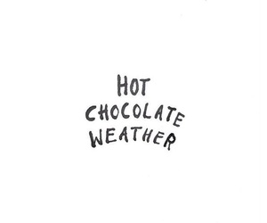 chocolate, cold, and weather image