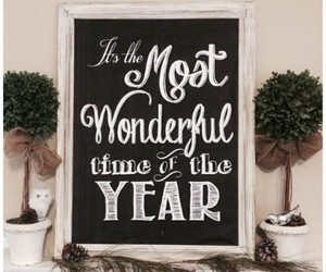 christmas quote and most wonderful time image
