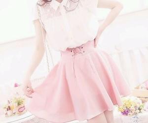 pink, fashion, and kawaii image