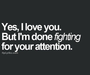quotes, love, and attention image