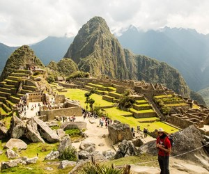 machu picchu, peru, and photography image