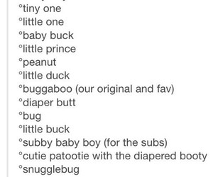 baby boy, nicknames, and boy image