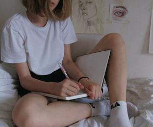 beautiful, sad, and teen teens image