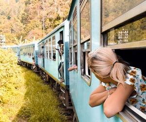 explore, girl, and travel image