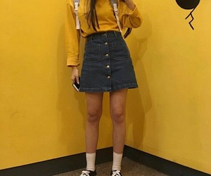 yellow, alternative, and asian image