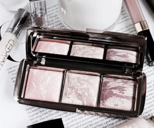 makeup, beauty, and rose gold image