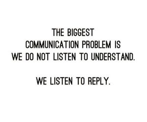 quotes, listen, and communication image