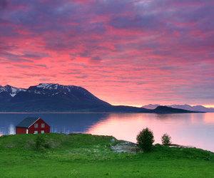 lake, landscape, and norway image