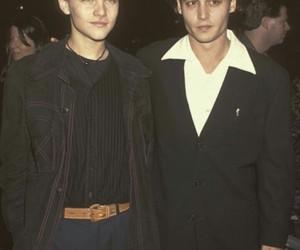 johnny depp, leonardo dicaprio, and boy image