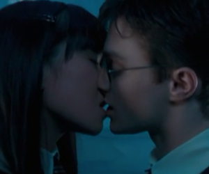 daniel radcliffe, harry potter, and katie leung image