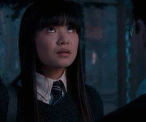daniel radcliffe, katie leung, and harry potter image