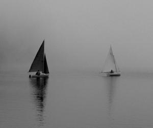 2016, bw, and lake image