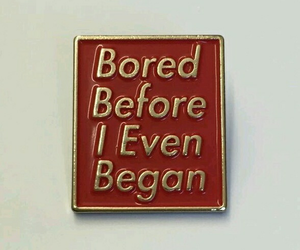 bored, gold, and quotes image