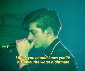 arctic monkeys, dreams, and Lyrics image