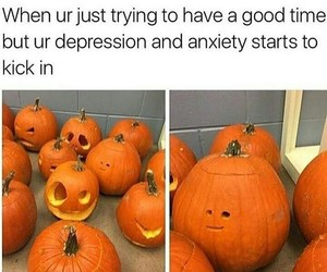 funny, Halloween, and pumpkin image
