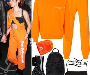 singer, halsey, and steal her style image