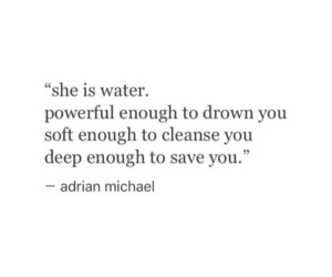 quotes, water, and words image