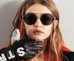 Versace, gigi hadid, and fashion image