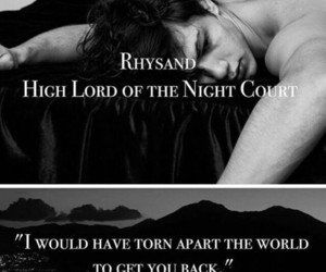 rhysand, a court of mist and fury, and a court of wings and ruin image
