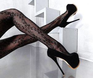 shoes, sexy, and black image