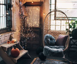 home, autumn, and light image