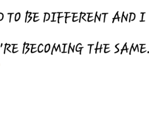 different, frienship, and quotes image