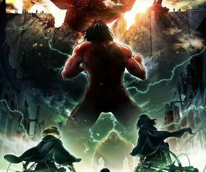 attack on titan, anime, and shingeki no kyojin image