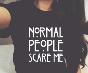 normal people, scare me, and série image
